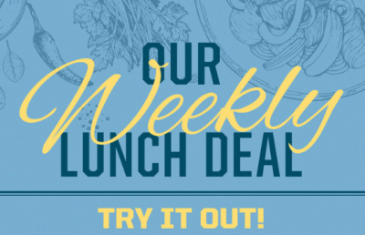Weekly Lunch Deal